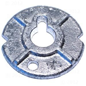 Specialty Washers Round Malleable Washers Zinc Blue